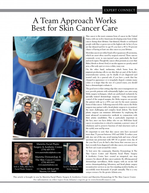 A Team Approach Works Best for Skin Cancer Care